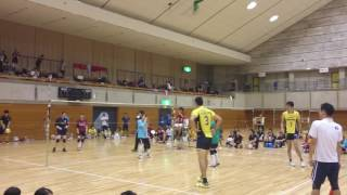 [1st Fellow Cup] 石島・出耒田のソフトバレーボール [堺ブレイザーズ]