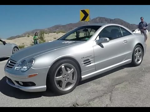 Mercedes SL55 AMG –  One Take