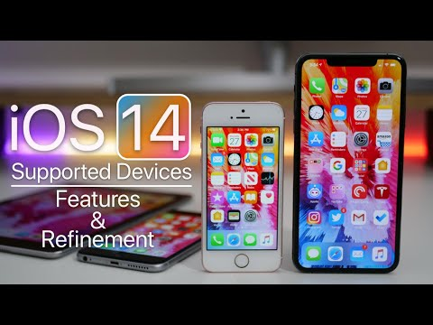 iOS 14 – Supported Devices, Refinement and Features