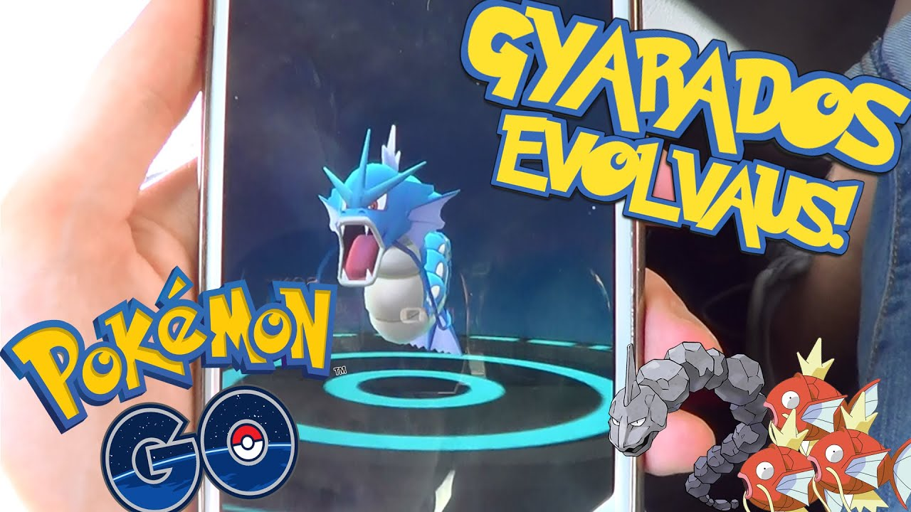 Pokemon GO Suomi - GYARADOS EVOLVAUS! - YouTube