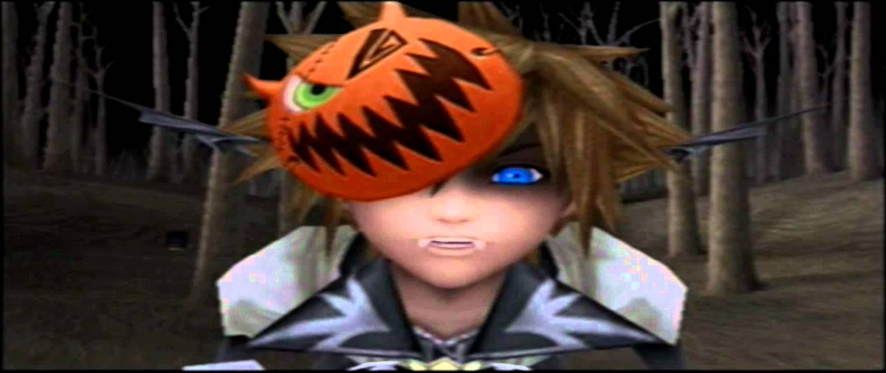 Nightmare Before Christmas Sora.Kingdom Hearts 2 Hd Cutscenes Pt 36