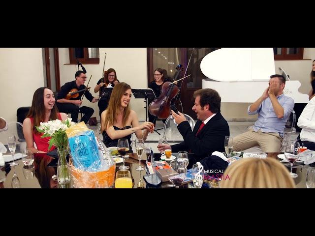 Pedida de Mano por Sorpresa - Real Casino de Murcia - musica para bodas en murcia