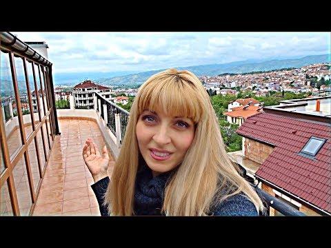 BULGARIA, Apartment With Views to Die For, Penthouse Tour, SANDANSKI