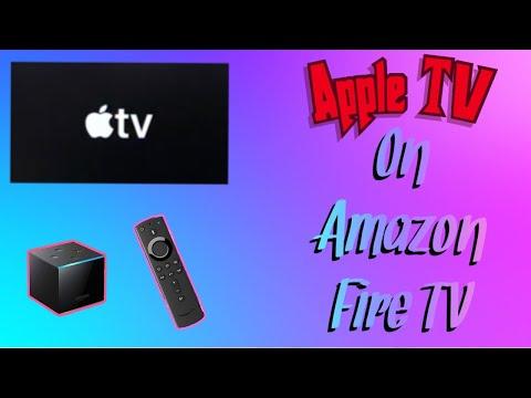 Apple TV On Amazon Fire TV