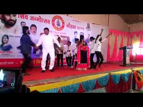 Actors Komal Habib And Ritz Rane Choreographer And SK Dada Dance