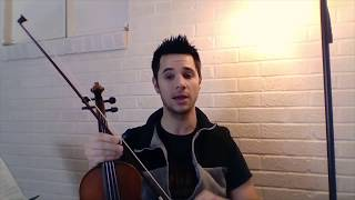 Violin: Two Octave G Major Scale and Arpeggios in First Position