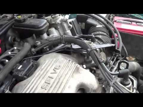 1995 pontiac grand am vacuum leak throttle position sensor youtube rh youtube com 1995 Grand Prix MPG 2004 Pontiac Grand Prix GT
