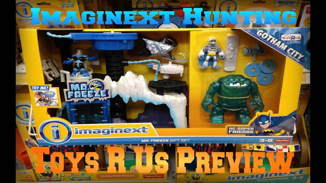 Imaginext Mr Freeze Gift Set and Alpha Walker Preview - YouTube