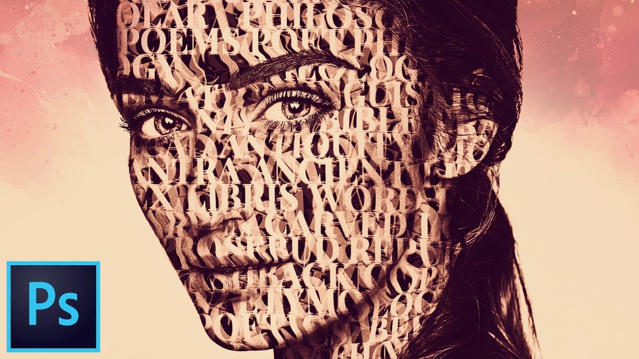 Image result for How to Create an Artistic Typography Portrait in Photoshop