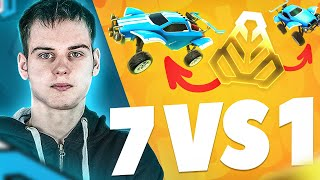 7 Golds vs le MEILLEUR JOUEUR de Rocket League