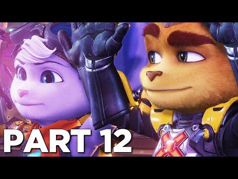 RATCHET MEETS RIVET In RATCHET AND CLANK RIFT APART PS5 Walkthrough Gameplay Part 12 (PlayStation 5)