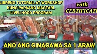 MGA GINAGAWA AT NANGYAYARI SA FREE GAFFING TUTORIAL AND WORKSHOP. Livelihood Program sa Pagtatari!