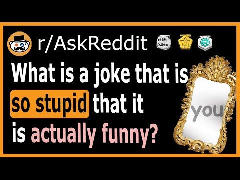 What Is A Joke That's So Stupid It's Funny? - (r/AskReddit)