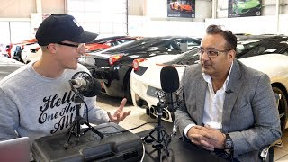 Sheikh Amari; The UK's Biggest Lamborghini Collector?