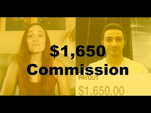 Make Money Online 2016 – How Mia Earned $1,650 in commissions with ONE SALE