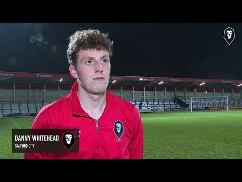 Salford City 3-2 Harrogate Town | Danny Whitehead post match interview