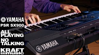 Yamaha PSR-SX900 - All Playing, No Talking! with Gabriel Aldort