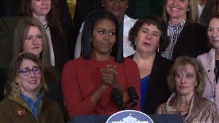 Emotivo adiós de Michelle Obama de la Casa Blanca