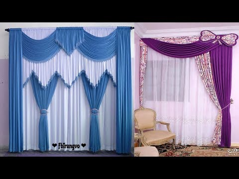 Modern Curtain Designs For Living Room | Parda Design In Pakistan Ideas 2018