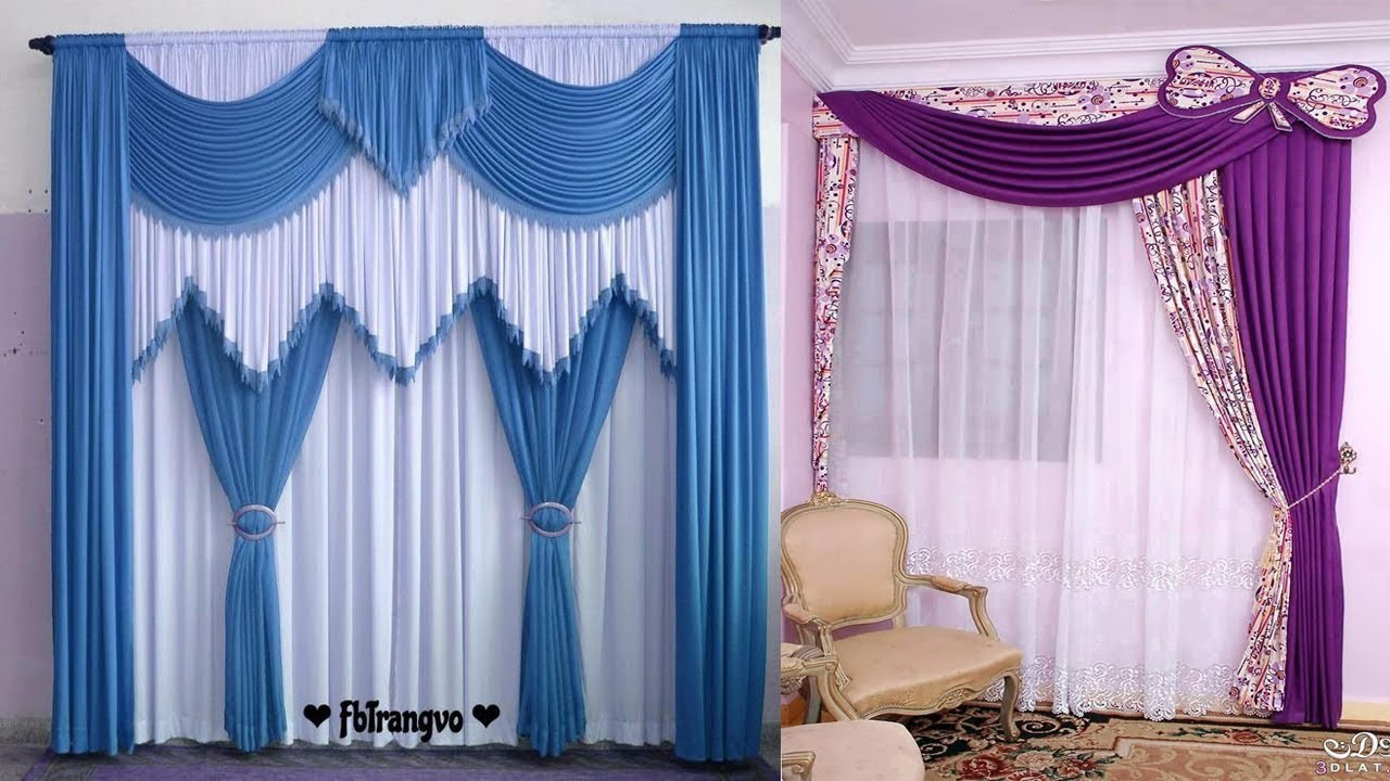 Modern Curtain Designs For Living Room Parda Design In Pakistan