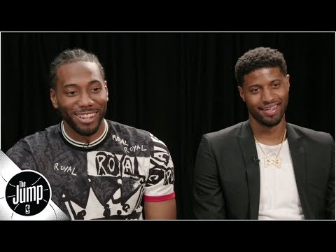 Kawhi, Paul George discuss teaming up with Clippers, wild 2019 NBA free agency | The Jump