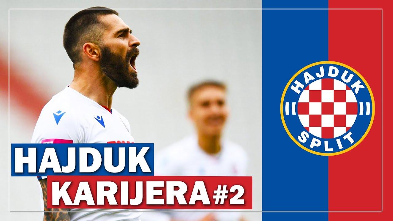 LIVAJINA MAGIJA za PETARDU DINAMU! Hajduk karijera#2
