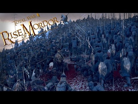 Sons Of Durin - Dwarf City Defence | Rise Of Mordor Total War Gameplay