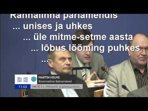 M&M Helme vs Jürgen Ligi