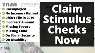 How To Get Your Stimulus Money 2021 - Step By Step Guide -  File Your Taxes For Free