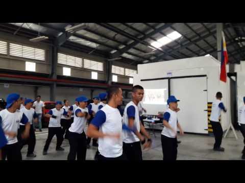 Zumba Exercise SAVI Scholars