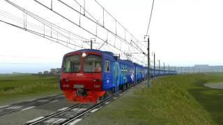 Trainz 2012 ЭД4М 0397 Катаемся
