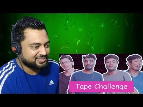 Indian Reacts to Ducky Bhai | INSANE BOTTLE FLIP TAPE CHALLENGE