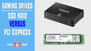 Repeat youtube video SSD RAID vs PCI Express - What's the fastest for gaming?