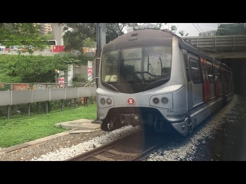 Mass Transit Railway HD: Riding East Rail Line Metro Cammell MLR Train from Fanling to Hung Hom