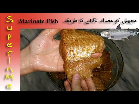 How To Marinate Fish | How To Marinade Your Fish | How To Marinate And Season Fish Delicious Flavour