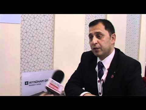 Jan Siddiqi, Director Sales & Marketing, Wyndham Grand Regency Doha @ ITB Berlin 2012