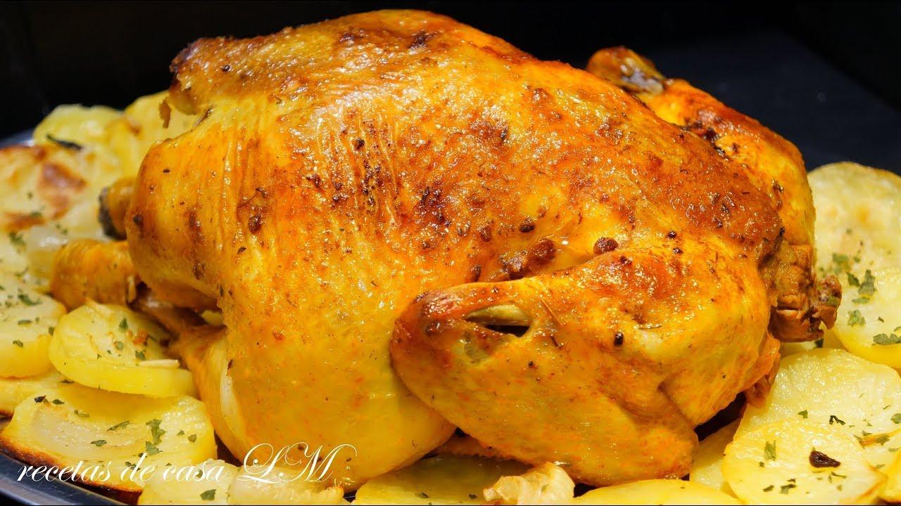 pollo adobado al horno receta f cil y rico rico youtube