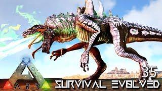 ARK: SURVIVAL EVOLVED - GODZILLA BATTLE RAMPAGE KAIJU GODZILLARK !!! E35 (ETERNAL CRYSTAL ISLES)