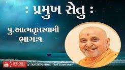 PRAMUKH SETU. PART : 1 || PUJYA: ATMATRUPT SWAMI || #99birthdaypramukhswami #divinedarshan