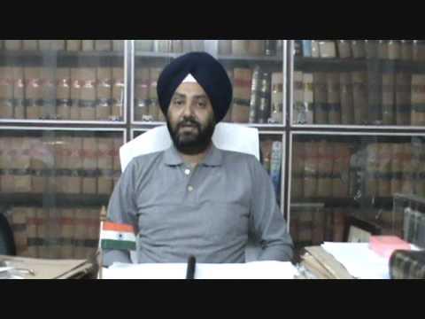 Advocate Parupkar Singh Ghuman Member Bar Council of Punjab & Haryana -  YouTube