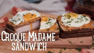 Croque Madame sandwich  [BA Recipes]