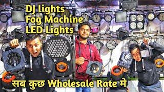 DJ wholesale market | DJ Lights, Fog Machine, DJ accessories in wholesale price | VANSHMJ