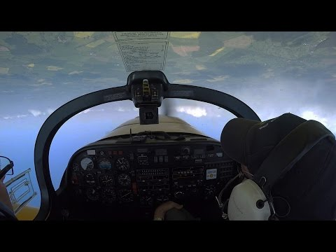 T67M Slingsby Firefly Aileron Rolls and Max Performance turning  G-BNSP GoPro HD