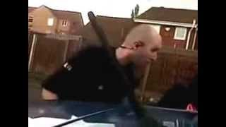 Greater Manchester Police Bully asserting his authority