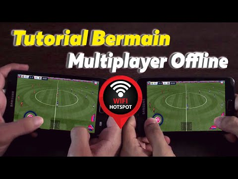 Cara Bermain Multiplayer Dream League Soccer 18 Offline | How To Connect Dls 18 Wifi/Hotspot