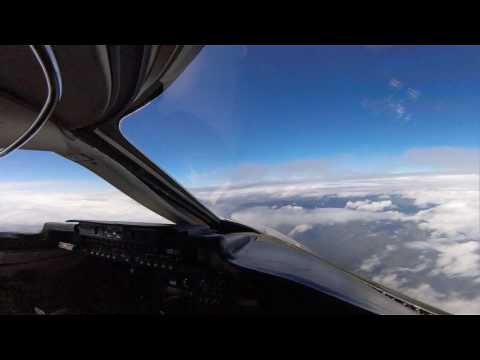 Landing Quito Ecuador