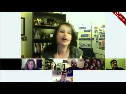 Christina Bellantoni talks about engaging with people about the State of the Union address via Google Hangouts​