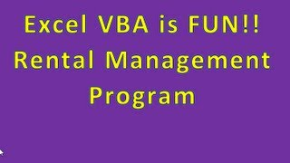 Example Of Cool Programs You Can Write   Rental Management Program