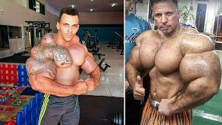 5 Bodybuilder Giganteschi Con Muscoli Fake