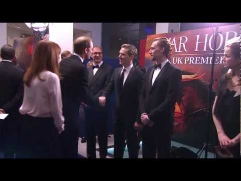 War Horse: Royal Premiere Kate Middleton and Prince William Arrival